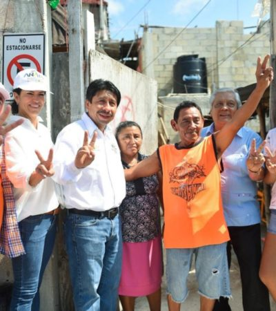 Víctor Mas buscará que en Tulum prevalezca una vivienda digna y accesible