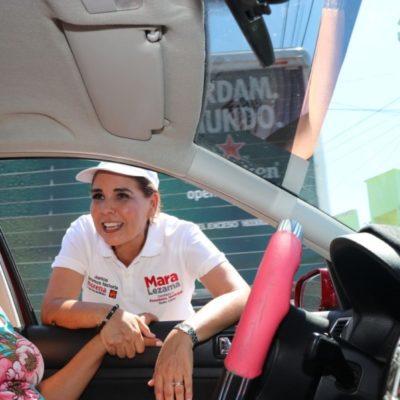 Mara Lezama incrementará la red pozos de absorción en Cancún
