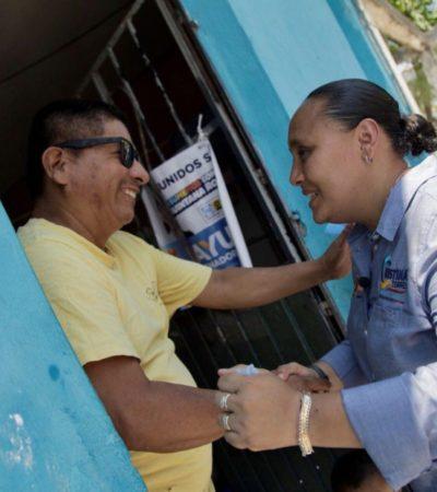 Cristina Torres impulsará la certificación de más playas 'Blue Flag' en Solidaridad