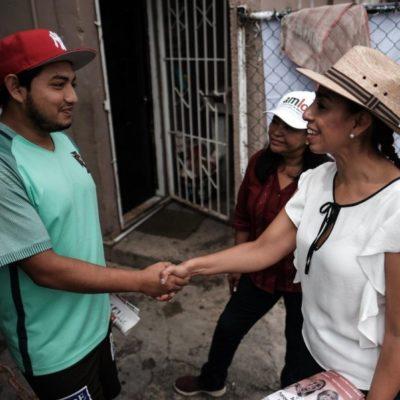 Recorre Marybel Villegas la Región 101 en compañía de Mildred Ávila Vera
