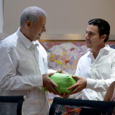 El Ayuntamiento de Benito Juárez fortalece los lazos de amistad con Cuba