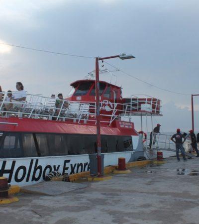 Las lluvias espantan a los turistas en Holbox