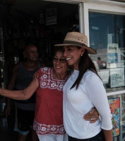 Visita Marybel Villegas la Región 60 y dice que en la Zona Norte el principal problema es la inseguridad y en la Zona Sur la falta de trabajo