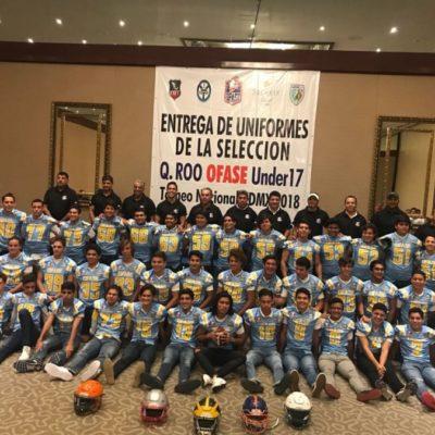 Abanderan a los 43 jugadores de la Selección U-17 de Ofase que jugarán el Campeonato Nacional Under 17