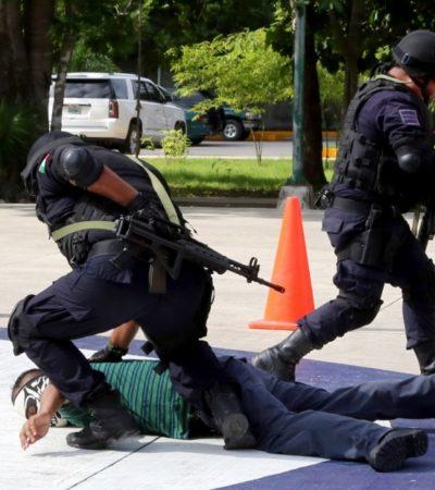 Benito Juárez capacitará a elementos policiales en Sonora y en la Academia Regional del Sureste