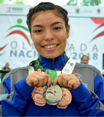 LA OTRA LLUVIA: Medallas de plata y de bronce en triatlón y halterofilia enmarcan triunfos de Quintana Roo en Olimpiada Nacional