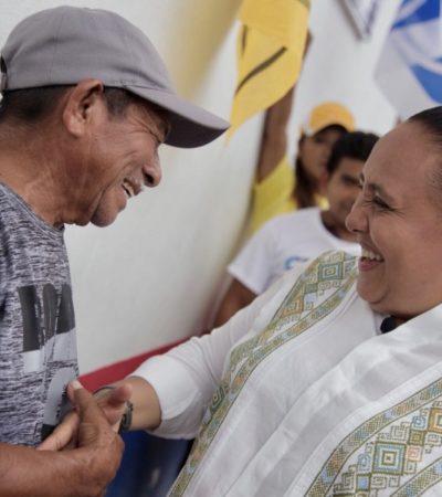 Cristina Torres continuará dando resultados a las familias de Solidaridad, asegura