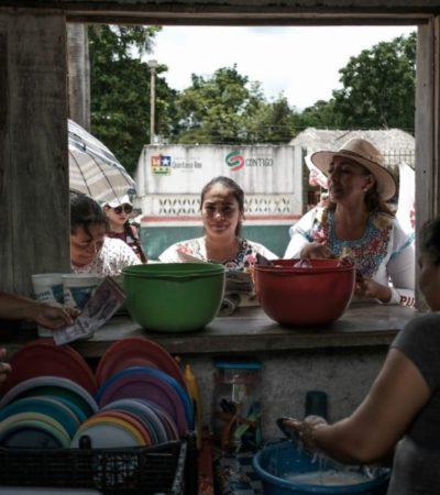 Marybel Villegas combatirá la desigualdad que persiste en Zona Maya, dice en FCP