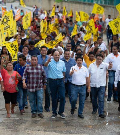 Con una década de existencia como municipio, Tulum merece tener más prosperidad, dice Víctor Mas