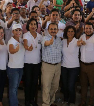 Martín de la Cruz considera que Solidaridad merece seguridad