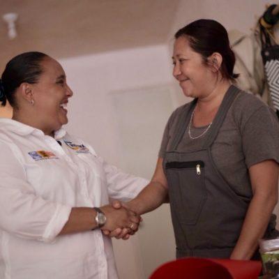 Cristina Torres se compromete a construir el Mercado Bellavista