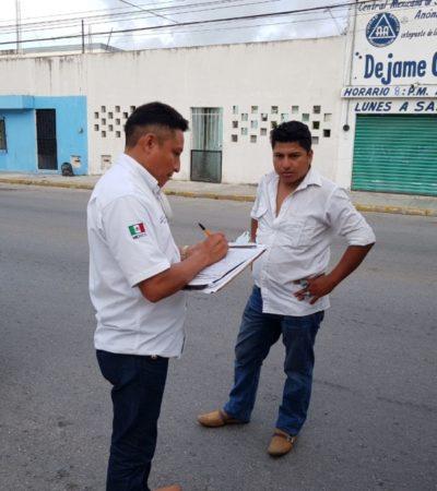 En la Región 71, el 'punto de cacería' de combis con sobrecupo en Cancún