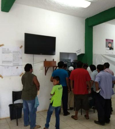 """""""LOS TRAEN DANDO VUELTAS"""" Campesinos de Carrillo Puerto acuden a las oficinas de la Sagarpa en busca de apoyos del año pasado, sin éxito"""