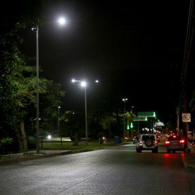 Inversionistas verificaron la nueva iluminación LED del proyecto 'Kookay'