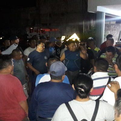 Paro total de policíasen José María Morelos