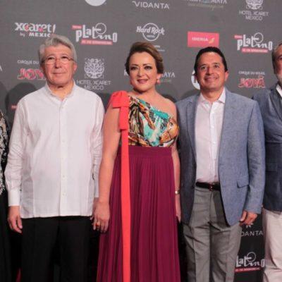 Con Premios Platino, la Riviera Maya se posiciona nuevamente como un destino seguro y tranquilo, dice secretaria de Turismo