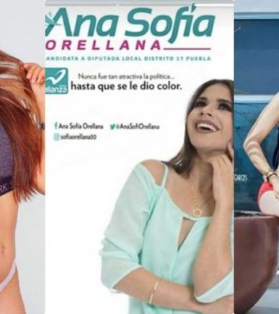 """""""LO MÁS SEXY DE UNA MUJER ES LO QUE CONTIENE SU CEREBRO Y SU ESPÍRITU"""": Candidata a diputada en Puebla busca el voto con sensuales fotos en redes sociales"""