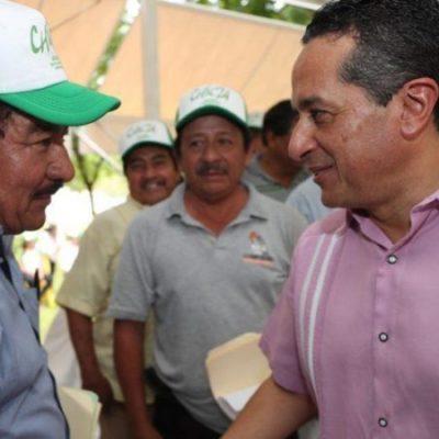 """""""Sí me entero de lo que pasa en el estado"""", dice Carlos Joaquín a sindicatos en el Día del Trabajo"""