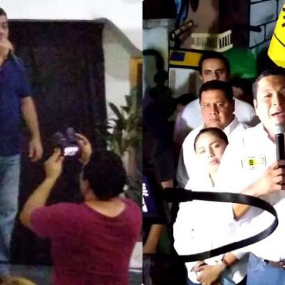 DAN 'MADRUGUETE' EN BUSCA DEL VOTO EN CHETUMAL: Dos candidatos inician campaña por la alcaldía de OPB en los primeros minutos del lunes