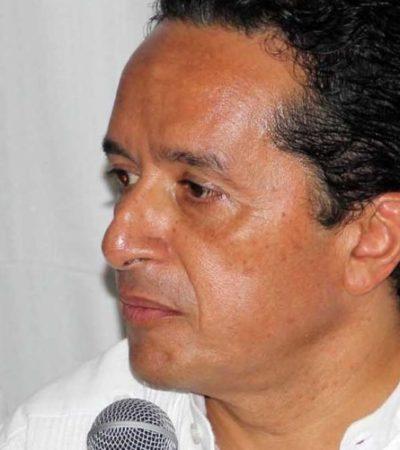 """""""HE DICHO QUE NO HAY CANDIDATO DEL GOBERNADOR"""": Rechaza Carlos Joaquín tener 'metidas las manos' en la elección por la presidencia municipal de Cancún"""