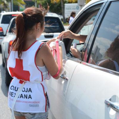 Aplazan colecta de la Cruz Roja para captar más recursos
