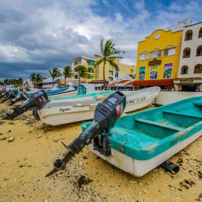 Cierran puerto a embarcaciones menores y cancelan arribo de cruceros en Cozumel