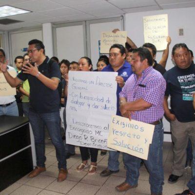 Docentes del Sindicato de Trabajadores de la Educación Superior del Instituto Tecnológico de Felipe Carrillo Puerto paran labores y exigen diálogo