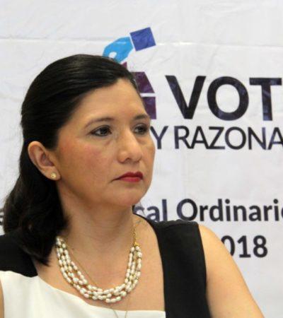 Investiga órgano interno de control del Ieqroo, queja interpuesta por el INE contra Mayra San Román y dos directores más