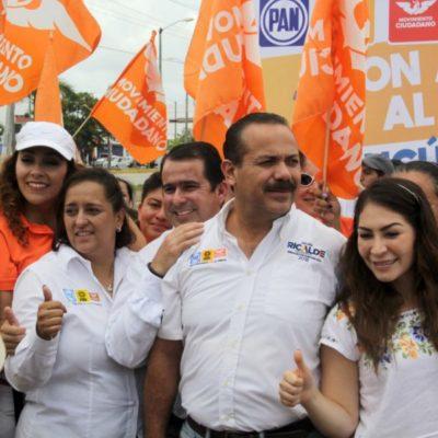 Pedirá Morena que arreglo de calle de la coalición 'Por Quintana Roo al Frente' sea incluido en gastos de campaña