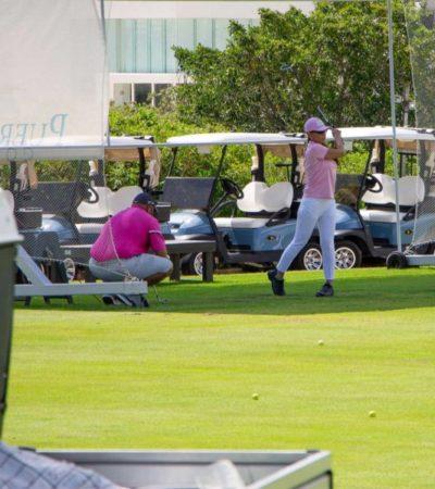 Organizan torneo de Golf a favor de mujeres embarazadas en desamparo