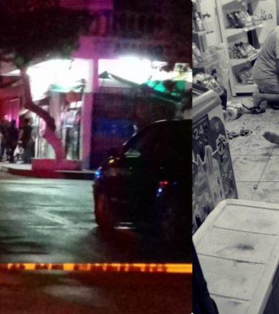 OTRO DOMINGO VIOLENTO EN CANCÚN: Un ejecutado en la SM 227 y 4 jóvenes baleados en la SM 74 antes de la medianoche