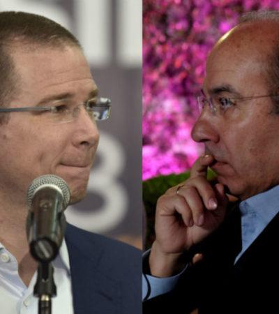 """""""PREGÚNTALE TAMBIÉN A TU MAMÁ SI ESTO ESTUVO BIEN"""": Felipe Calderón acusa de abuso de poder a Ricardo Anaya en tuit por la salida de Margarita Zavala del PAN"""