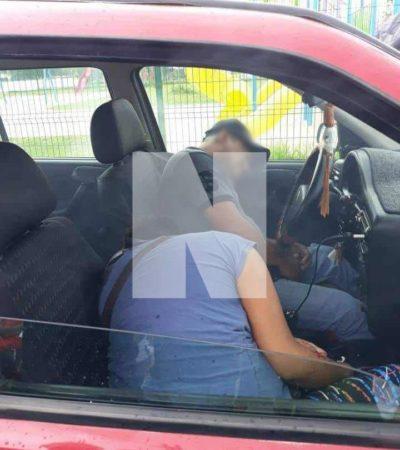 RAFAGUEAN A UNA PAREJA EN LA REGIÓN 227: Ejecutan a un hombre y a una mujer en nuevo ataque a balazos en Cancún