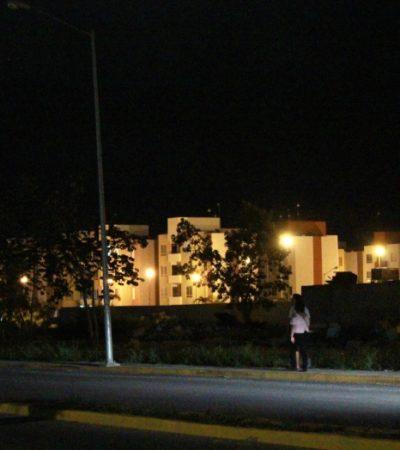 Falta de servicios públicos y vigilancia policiaca, alerta a vecinos de Misión de Las Flores en Playa del Carmen; piden también una ruta de transporte público