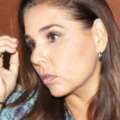 Tras obtener su registro como candidata para Cancún, 'Mara' Lezama dice que el gran propósito es recuperar la seguridad