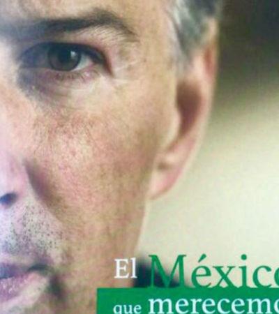 """Meade presentará su libro de cuyo título no pudo acordarse: """"El México que merecemos. Mi visión para transformar nuestro país con orden y rumbo"""""""