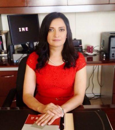 INE en Quintana Roo no ha recibido solicitudes para resguardo de seguridad de candidatos a las presidencias municipales durante la campaña: Claudia Rodríguez Sánchez