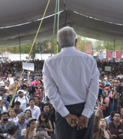 AMLO tiene doble discurso sobre la reforma educativa, acusa Mexicanos Primero
