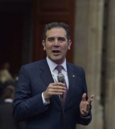 """""""Nestora Salgado cumplió con la legalidad de requisitos que pide el INE"""", dice Lorenzo Córdova, luego de los reproches de Meade en el segundo debate"""