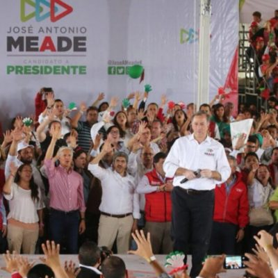 Pide Meade a ciudadanos que apuesten por su proyecto y no por 'otros' que pondrán en juego la estabilidad de México