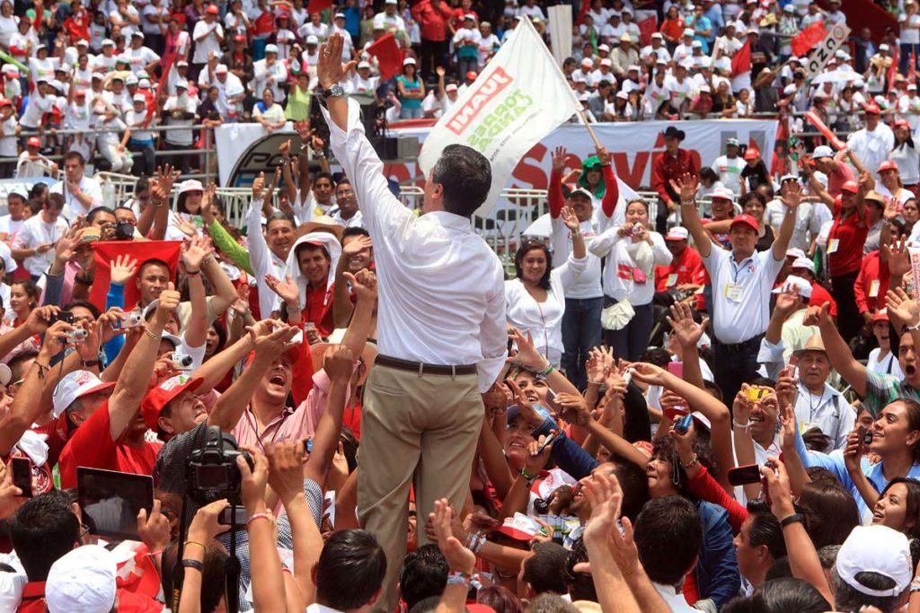 Con 400 empresas fantasmas, Javier Duarte de Ochoa desvió dinero público para la campaña priista de Peña Nieto