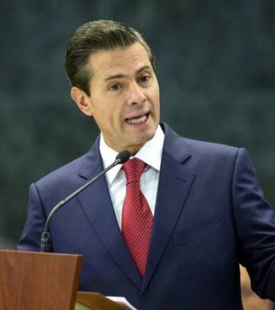 Pese a protestas, Peña Nieto ordena promulgación de la Ley General de Comunicación Social, conocida como 'Ley Chayote'