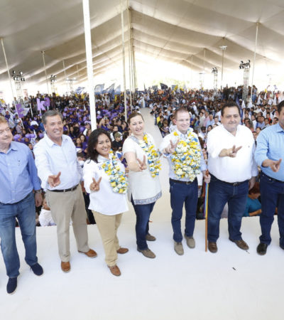 Rompeolas: Extra innings | Carlos Joaquín, entre los ausentes en mitin de Anaya con gobernadores
