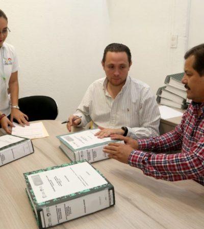En Benito Juárez realizan simulacro de entrega-recepción de la administración pública