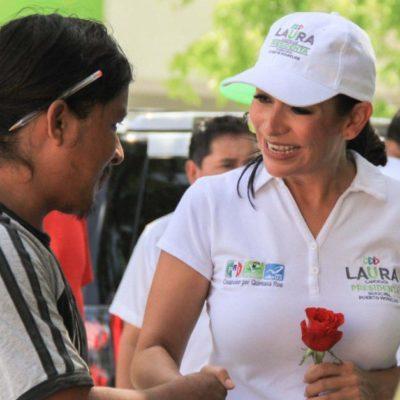 Laura Fernández ofrece a comerciantes facilitar la apertura de empresas y hacer menos complicados los trámites y licencias de funcionamiento