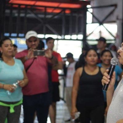 Martín de la Cruz se compromete con deportistas solidarenses a dignificar y apoyar las diferentes disciplinas en el municipio