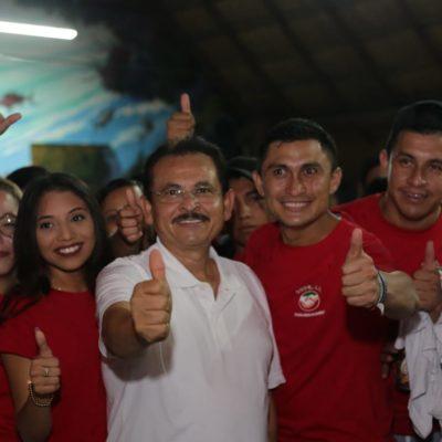 Dan jóvenes respaldo al proyecto de Martín de la Cruz para Solidaridad