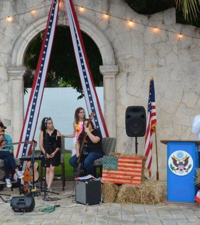 VIENE RELEVO EN EL CONSULADO DE EU EN MÉRIDA: Adelantan celebración de independencia como despedida al Cónsul David Micó