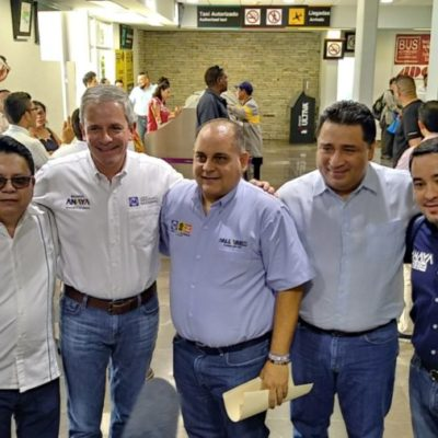 """Marcelo Torres Cofiño, dirigente nacional del PAN, asegura en Chetumal que van por el """"carro completo"""" en estas elecciones"""