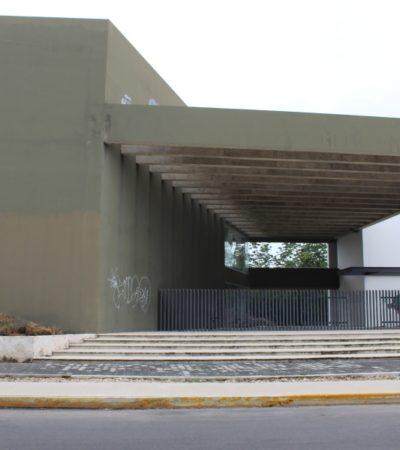 'Empresa privada' de Chetumal limpia terreno del Cenaltur, proyecto millonario de Borge que sirve como refugio de la delincuencia en Playa del Carmen